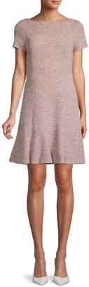 Karl Lagerfeld Paris Knit Flounce Dress