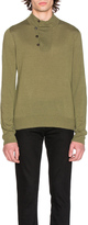 Maison Margiela Jersey Elbow Patch Sweater