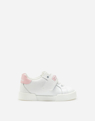 Dolce & Gabbana Portofino Light Sneakers With Rubberized Logo