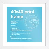 Camilla And Marc GB eye 40 x 40 cm FMSCA1WH Print Frame