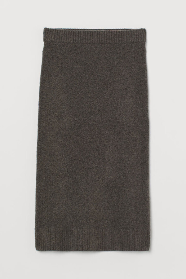 Thumbnail for your product : H&M Fine-knit pencil skirt