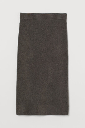 H&M Fine-knit pencil skirt