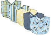 Trend Lab 5 Piece Bib Set, Baby Barnyard by