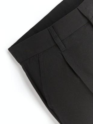 Very Boys 2 Pack Classic Woven Regular School Trousers - Black