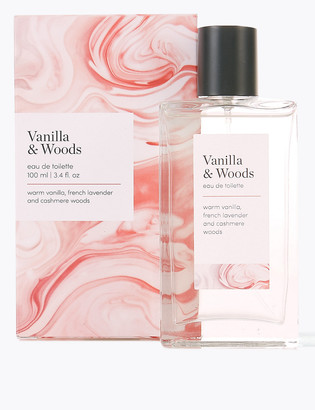 Icons M&S CollectionMarks and Spencer Vanilla & Woods Eau de Toilette 100ml