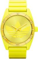 adidas Watch, Unisex Lime Green Polyurethane Strap 42mm ADH2802