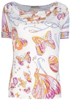 Emilio Pucci butterfly print t-shirt