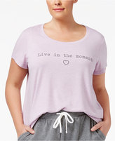 Alfani Plus Size Graphic-Print Pajama T-Shirt, Only at Macy's