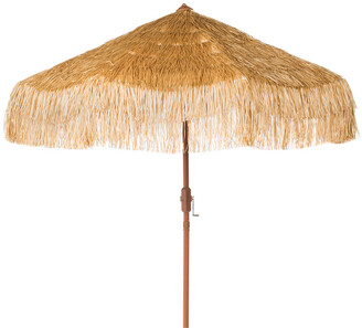 Safavieh Tiki 9Ft Crank Umbrella