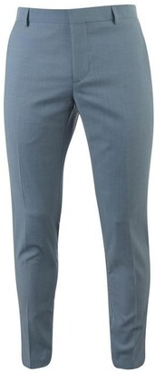 Calvin Klein Two Tone Wool Tropical Suit Trousers