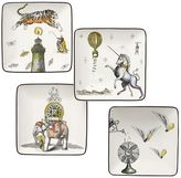 Pottery Barn Cirque Appetizer Plate, Set of 4