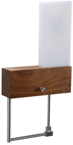 Cubo 1-Light LED Oiled Right Wall Sconce/Reading Light