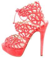 Charlotte Olympia Goodness Gracious Reef Sandals
