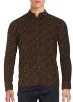 Saks Fifth Avenue Long Sleeve Corduroy Shirt