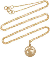 With Love Darling Earth 14K Gold Necklace
