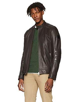 BOSS Men's Jagson5 Jacket, (Dark Beige 253), (Size: 50)
