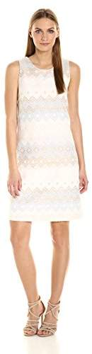 Helene Berman Women's Jacquard a-Line Dress