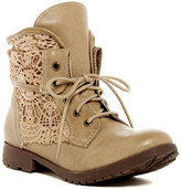 Rock & Candy Spraypaint Lace-Up Boot