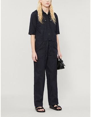 Zadig & Voltaire Catsy relaxed-fit cotton-blend jumpsuit