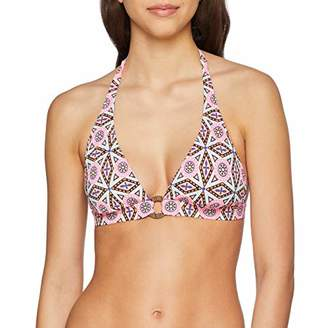 Skiny Women's Boho Girl Triangel herausnehmbare Pads Bikini Top