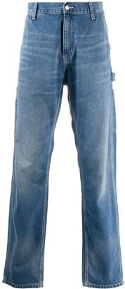 Carhartt Wip High-Waisted Straight-Leg Jeans