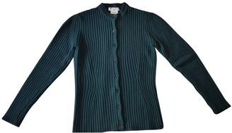 Christian Dior Green Wool Knitwear