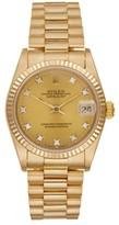 Rolex Datejust President 18K Yellow Gold and Diamond Unisex Watch