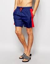 Bjorn Borg Swim Shorts With Stripe Blue