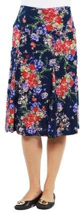 Tokyo Garden Maternity Skirt --Available in Plus Sizes