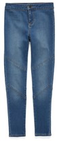 Tucker + Tate Girl's High Waist Moto Jeggings