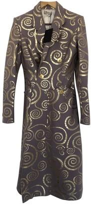 L'Wren Scott Purple Wool Coat for Women