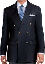 Jos. A. Bank Signature Double-Breasted Wool Blazer- Sizes 44-52