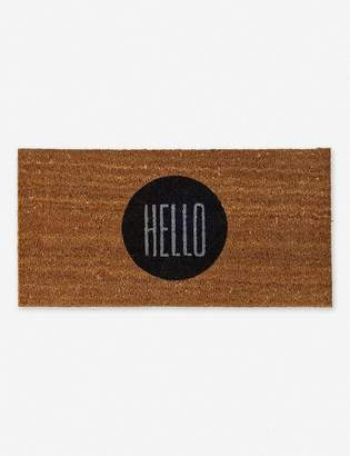 Lulu & Georgia Hello Circle Doormat