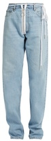 Off-White X Levi's boyfriend jeans