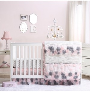 The Peanut Shell The Colette 3-Piece Crib Bedding Set Bedding