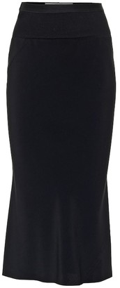 Rick Owens Stretch midi skirt