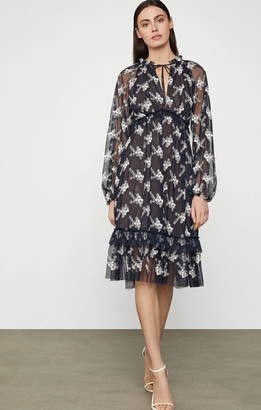 BCBGMAXAZRIA Daisy Mesh Dress