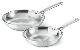 Calphalon Classic Stainless Steel 8 & 10 Fry Pan Combo