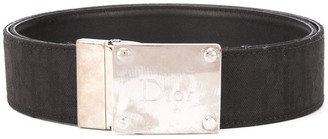 Christian Dior Pre-Owned Logo Buckle Belt