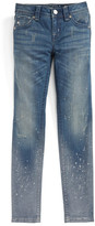 Miss Me Splashed Skinny Jeans (Big Girls)