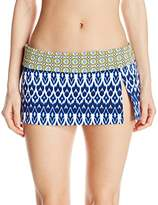 Bleu Rod Beattie Women's Road to Moroccan Skirted Hipster Bikini Bottom