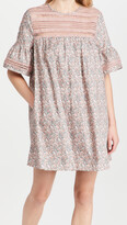 Thumbnail for your product : ENGLISH FACTORY Floral Lace Trim Dress
