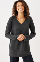 J. Jill Luxe Wool & Cashmere Pullover