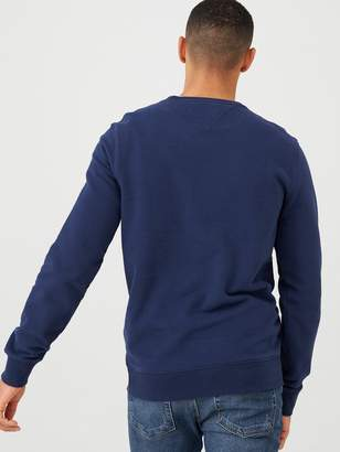 Tommy Jeans Essential Graphic Crew Sweatshirt - Navy