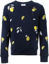 Ami Alexandre Mattiussi embroidered lemon sweatshirt