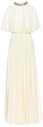 Chloé Silk crepe de chine gown
