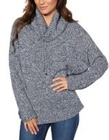 Karen Kane Funnel-Neck Marled Sweater