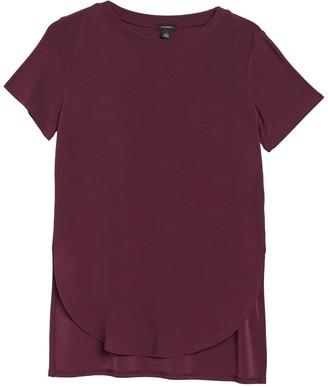 Halogen Short Sleeve Tunic T-Shirt