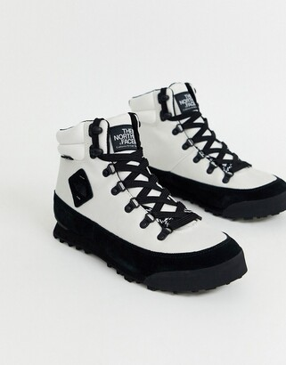 Back-2-Berkeley boots in white/black
