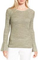 Nordstrom Bell Sleeve Linen Blend Sweater